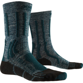 X-Socks Trek X Pellavasukat Miehet, forest green/opal black